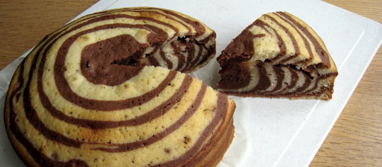 Everyday S Kitchen Zebra Kuchen